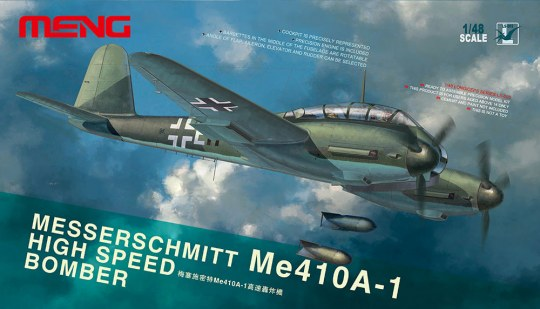 MENG-Model - Messerschmitt Me-410A-1 High Speed Bombe