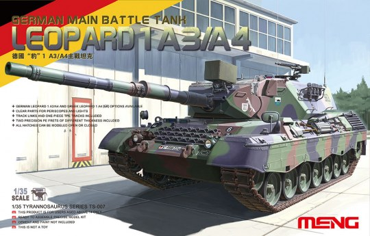 MENG-Model - Leopard I German Main Battle Tank