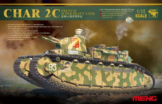 MENG-Model - French super heavy tank Char 2C