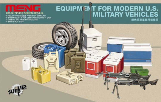 MENG-Model - Equipment for modern U.S.Military vehicl