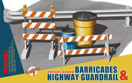 MENG-Model - Barricades & Highway Guardrail
