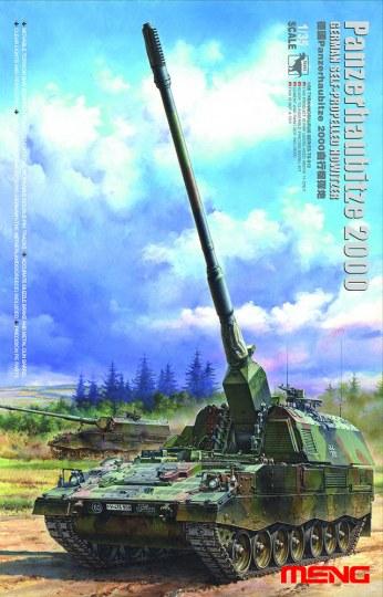 MENG-Model - GERMAN Panzerhaubitze 2000 SELF-PROPEL.H