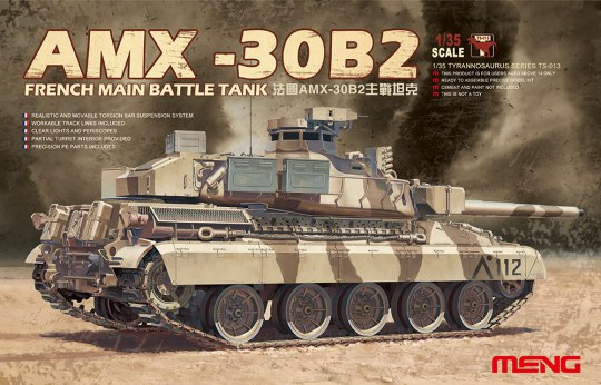 MENG-Model - French Main Battle Tank AMX-30B2