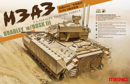 MENG-Model - U.S. Cavalry Fighting Vehicle M3A3 BRADL