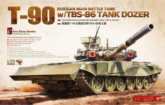 MENG-Model - Russian Main Battle Tank T-90 w/TBS-86