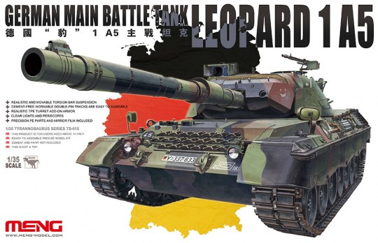 MENG-Model - German main Battle Tank Leopard 1 A5