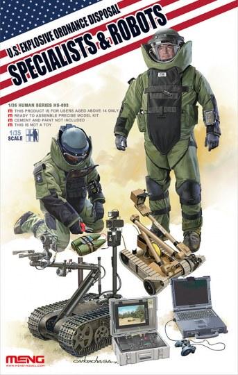 MENG-Model - U.S. explosive ordnance disposal special