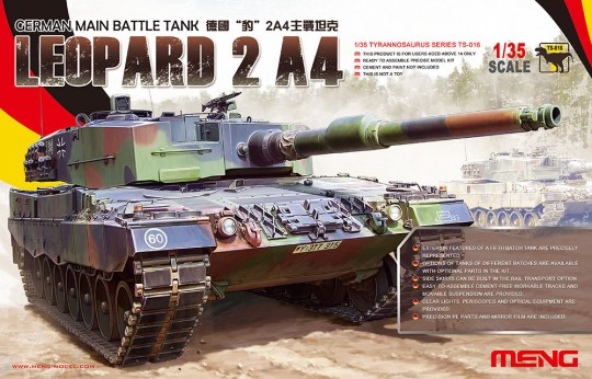 MENG-Model - German Main Battle Tank Leopard 2 A4