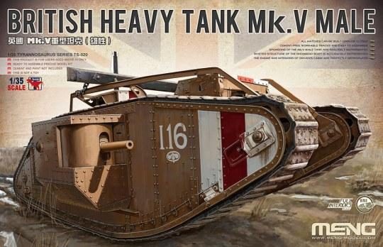 MENG-Model - British Heavy Tank Mk. V Male