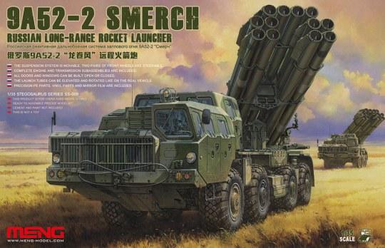 MENG-Model - Russian Long-Range Rocket Launcher9A52-2 Smerch