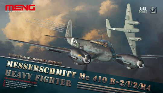 MENG-Model - Messerschmitt Me 410B-2/U2/R4 Heavy Figh