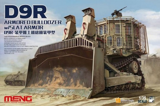 MENG-Model - D9R Armored Bulldozer W/Slat Armor