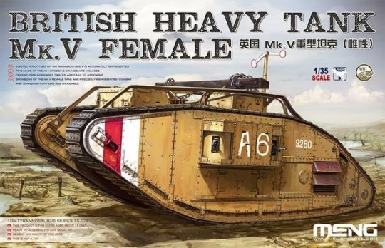 MENG-Model - British Heavy Tank Mk.V Female