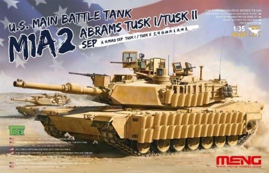 MENG-Model - U.S.Main Battle Tank M1A2 SEP AbramsTUSK TUSK I/TUSK II