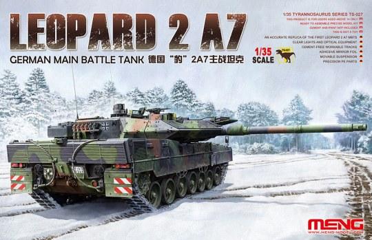 MENG-Model - German Main Battle Tank Leopard 2 A7