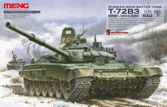 MENG-Model - Russian Main Battle Tank T-72B3