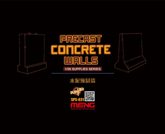 MENG-Model - Precast Concrete Walls (resin)