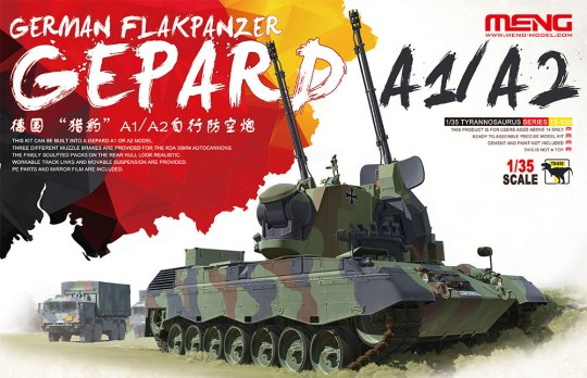 MENG-Model - German Flakpanzer Gepard A1/A2