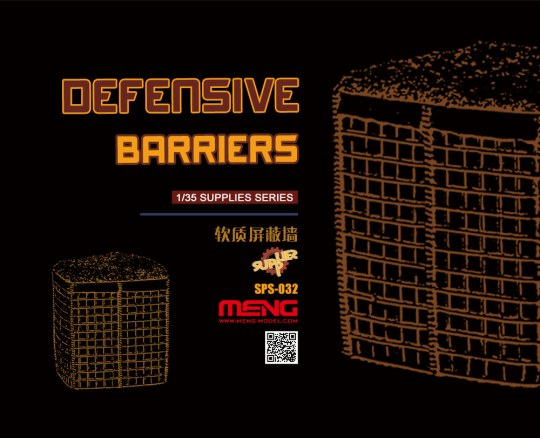 MENG-Model - Defensive Barriers (Resin)