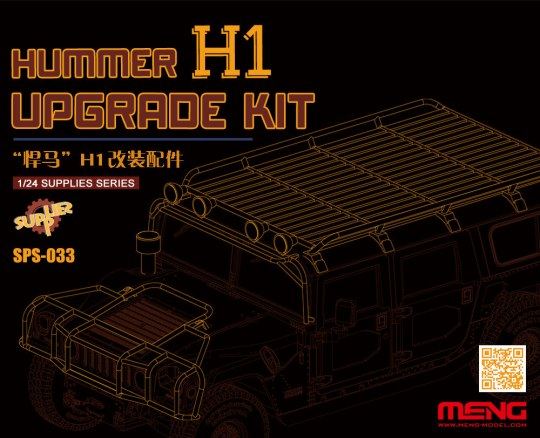 MENG-Model - HUMMER H1 Upgrade Kit (Resin)