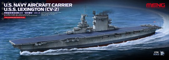 MENG-Model - U.S.Navy Aircraft CarrierU.S.S.Lexington (CV-2)