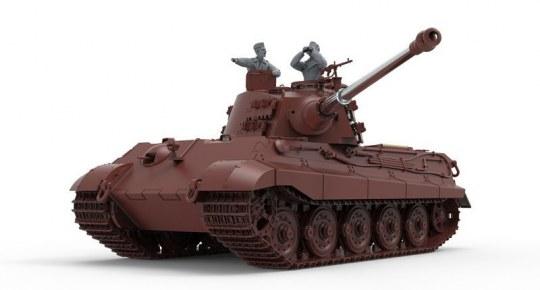 MENG-Model - German Heavy Tank Sd.Kfz.182 King Tiger (Henschel Turret)