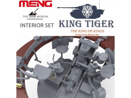 MENG-Model - German Heavy Tank Sd.Kfz.182 King Tiger (Henschel Turret)Interior Set