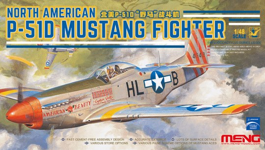 MENG-Model - North American P-51D Mustang Fighter