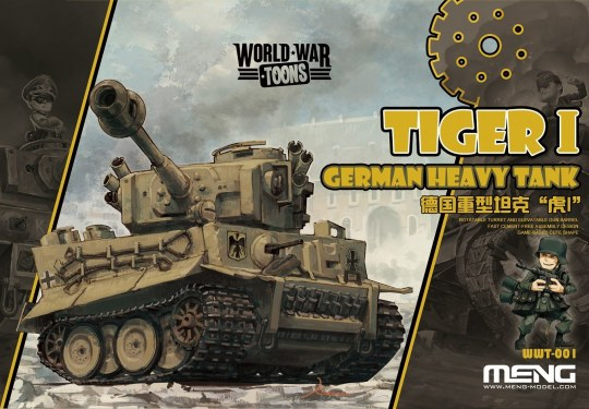 MENG-Model - German Heavy Tank Tiger I
