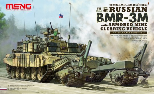 MENG-Model - Russian BMR-3M Armored Mine Clearing Veh