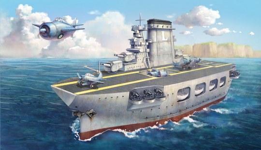 MENG-Model - Warship Builder- Lexington