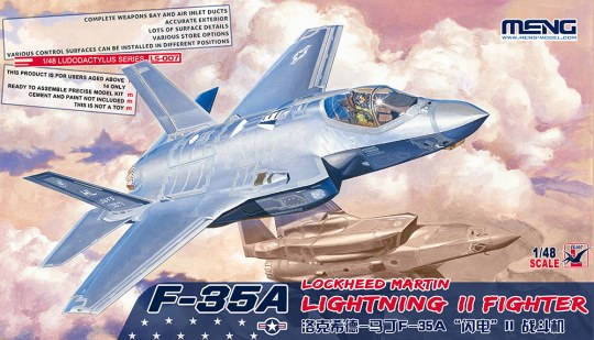 MENG-Model - F-35A Lockheed Martin Lightning II Fight