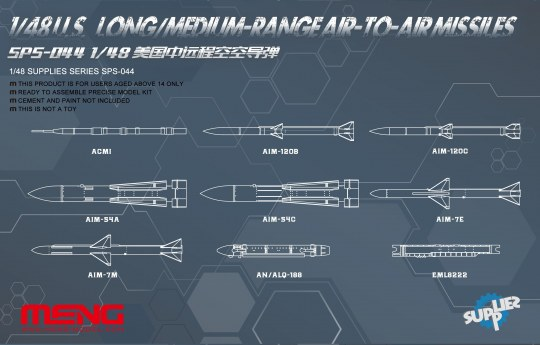 MENG-Model - U.S.Long/Medium-range Air-to-air Missile