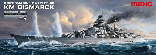 MENG-Model - Kriegsmarine Battleship KM Bismarck