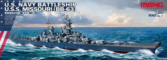MENG-Model - U.S. Navy Battleship U.S.S. Missouri (BB-63)