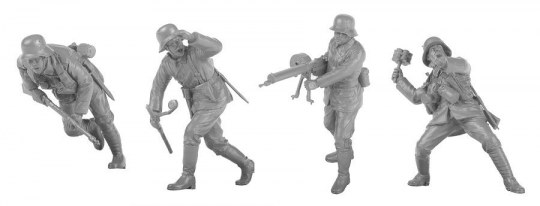 MENG-Model - Imperial German Army Stormtroopers