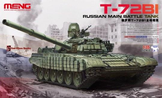 MENG-Model - Russian Main Battle Tank T-72B1