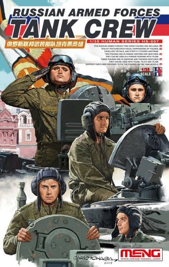 MENG-Model - Russian Armed Forces Tank Crew