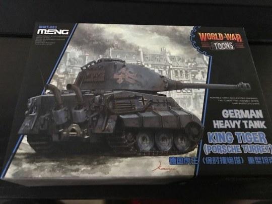 MENG-Model - German Heavy Tank King Tiger (Porsche Turret)(cartoon model)