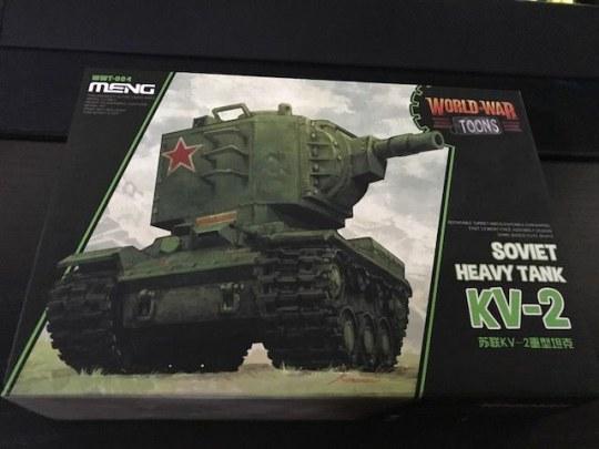 MENG-Model - Soviet Heavy Tank KV-2 (cartoon model)