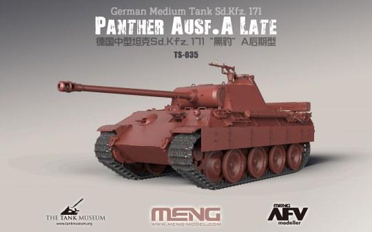 MENG-Model - German Medium Tank Sd.Kfz.171 Panther Ausf.A Late