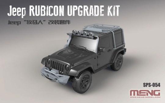 MENG-Model - Jeep Rubicon Upgrade Kit (Resin)