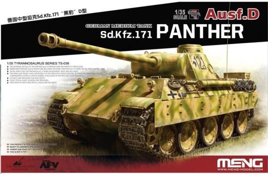 MENG-Model - German Medium Tank Sd.Kfz.171 Panther Ausf.D
