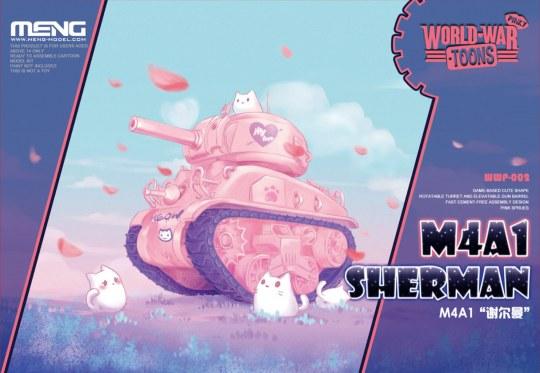 MENG-Model - M4A1 Sherman (Cartoon Model,Pink Color)