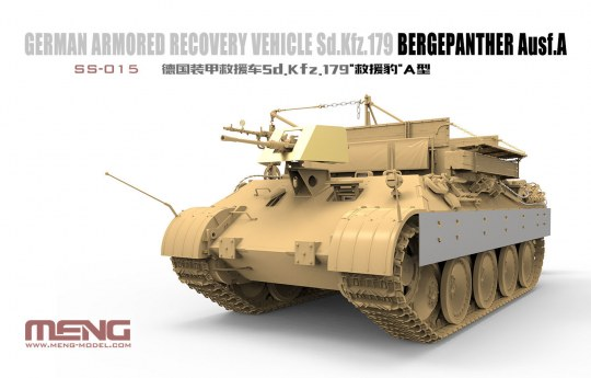 MENG-Model - Bergepanther Ausf. A SdKfz 179 179 Bergepanther Ausf.A