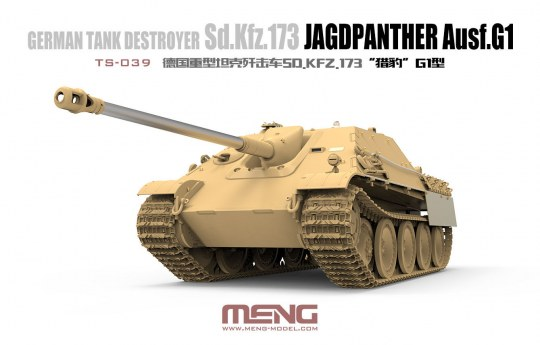 MENG-Model - German Tank Destroyer Sd.KFZ.173 Jagdpanther G1