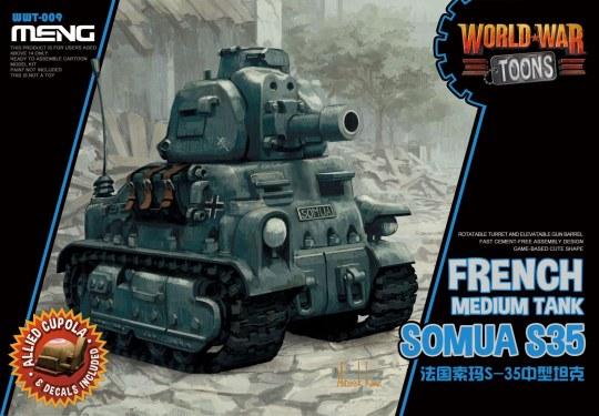 MENG-Model - French Medium Tank Somua S-35 (Cartoon Model)