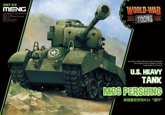 MENG-Model - U.S. Heavy Tank M26 Pershing (CartoonMod