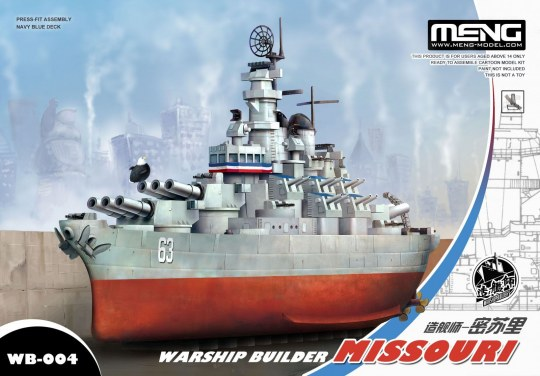 MENG-Model - Warship Builder Missouri