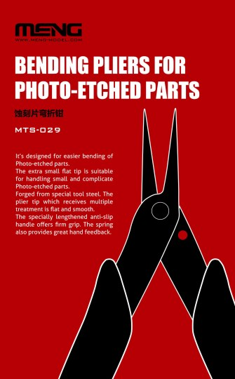 MENG-Model - Bending Pliers for Photo-Etched Parts